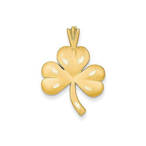 14k Yellow Gold Shamrock Charm 14k Yellow Gold Shamrock Charm