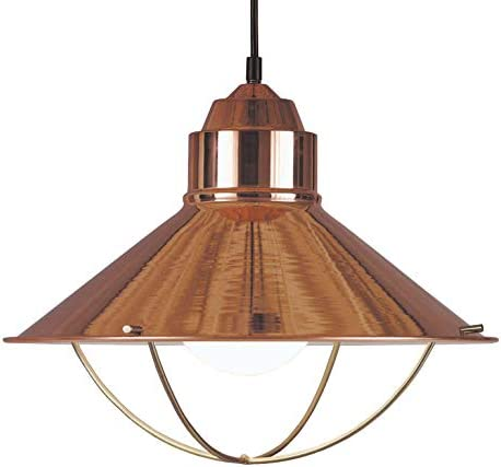 Kenroy Home 66349COP Rustic 1 Light Pendant