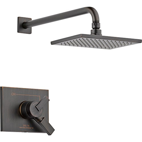 - Delta Vero Venetian Bronze Temp/Volume Control Shower Faucet with Valve D755V
