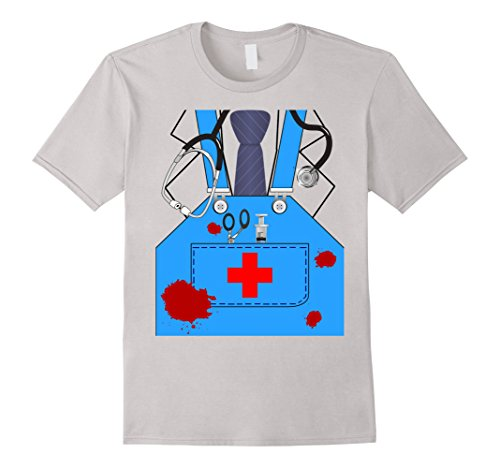 Bloody Surgeon Doctor Halloween Costume Shirt Men Women Kids