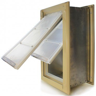 Endura Flap Double Flap Wall Mount Pet Door (Large   Double Flap   10u0026quot;