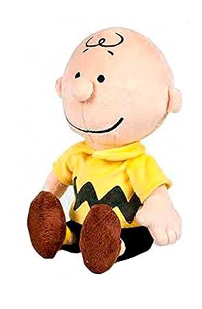 SNOOPY - Pack 2 peluches Snoopy clasico y Charlie 20cm - Calidad super soft: Amazon.es: Juguetes y juegos