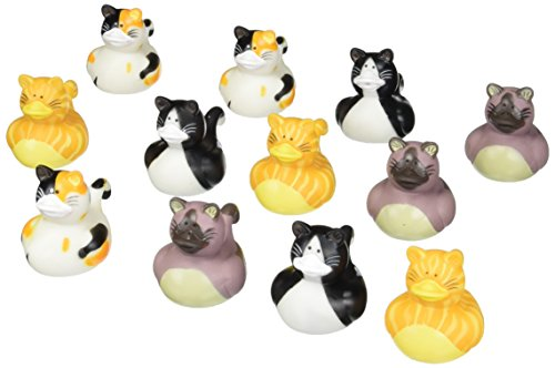 (Fun Express Vinyl Cat Rubber Duckies (1)