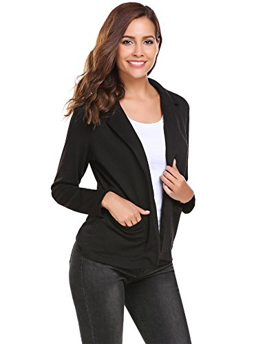 Bifast Long Sleeve Cardigan Casual Blazer Suit Jacket Coat Outwear Tops
