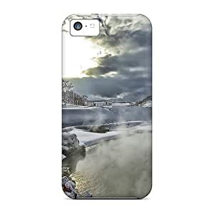 linJUN FENGFor iphone 4/4s Phone Cases Covers(winter Hike Hdr)