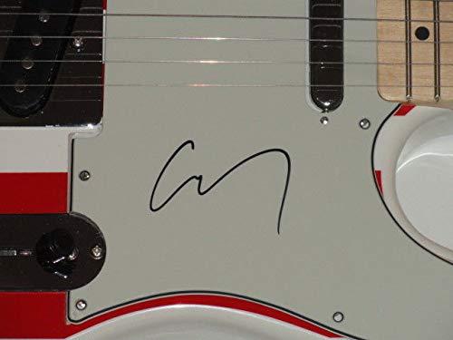 Corey Taylor Autographed Signed Usa Flag Electric Guitar Slipknot Stone Sour Proof JSA Authentic