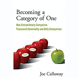 Becoming a Category of One