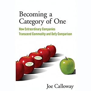 Becoming a Category of One Audiobook