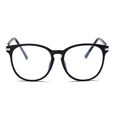 Rétro Lunettes De Anti Bleue femmes Lentille Ordinateur Sable Anti Meijunter Noir Hommes Claire fatigue Goggle Des Lumière 1qHUxSX