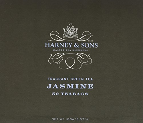 - Harney & Sons Fine Teas Jasmine Fragrant Green Tea - 50 Teabags