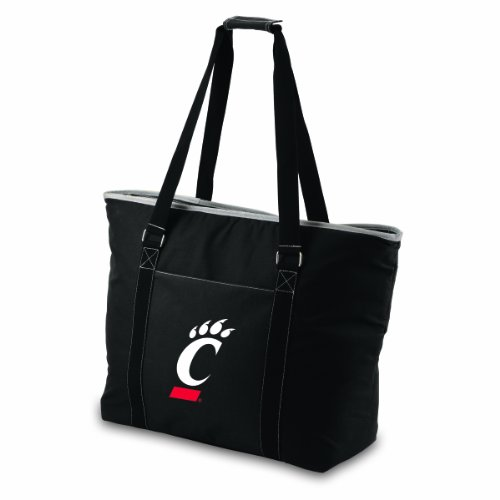 picture of NCAA Cincinnati Bearcats Tahoe Extra Large Insulated Cooler Tote, Black