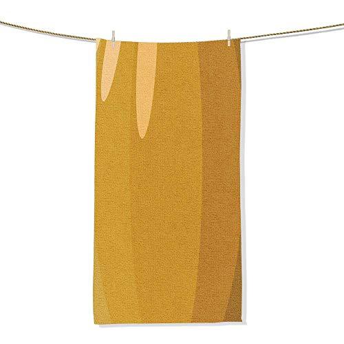 FootMarkhome Cotton Craft - Luxury Beach Towel Pumpkin Skin Vector Illustration Halloween Background or Wallpaper Beach Blanket -Size:9.9
