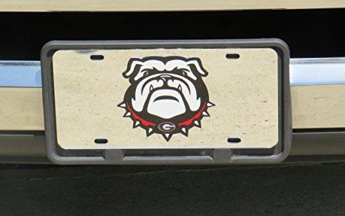 Georgia Bulldogs New Uga Design Laser Cut Inlaid Mirror License ()