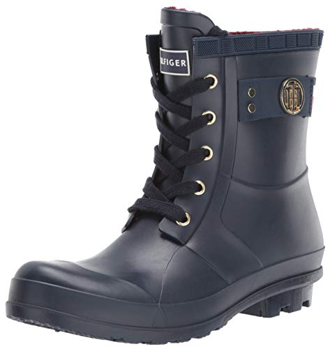 Tommy Hilfiger Women's TRINETI Snow Boot Navy 9 M US