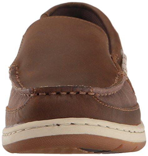Sebago Dark Leather Brown Women's Slip Maleah TpOTP6