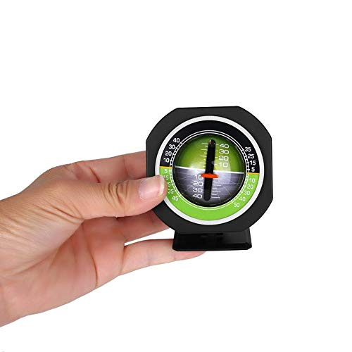 Leoie Apparecchio di misurazione inclinometro inclinometro per Auto Inclinato Luminoso misuratore di Pendenza per Veicoli ad Alta precisione Luminoso allaperto