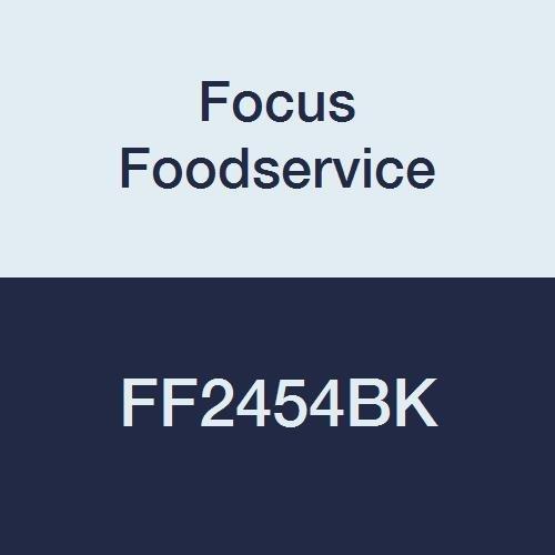 Focus Foodservice FF2454BK Black Epoxy Coated Wire Shelf, 24'' X 54'', Steel Wire, 600 lbs Capacity