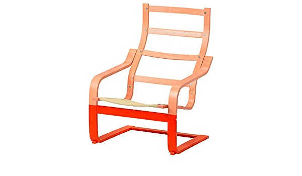 Amazon.com: IKEA.. 003.833.29 Poäng Armchair Frame, Orange ...
