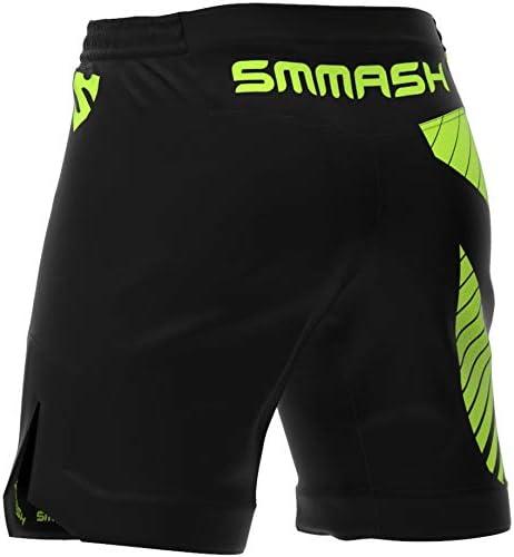 XXL UFC SMMASH Signature Herren Ultra Ligh Sport Shorts f/ür Boxen Crossfit Trainingshose Atmungsaktiv und Leicht Hergestellt in der EU Kampfsport MMA Thaiboxen Trainingt Sporthose Kurz f/ür M/änner