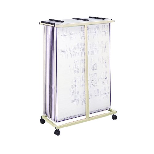 Safco Products 5059 Mobile Vertical File, Tropic Sand by Safco Products