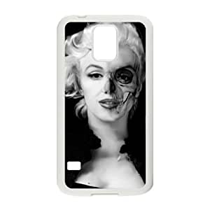Zombie Marilyn Monroe Unique Fashion Printing Phone Case for SamSung Galaxy S5 I9600,personalized cover case ygtg691451