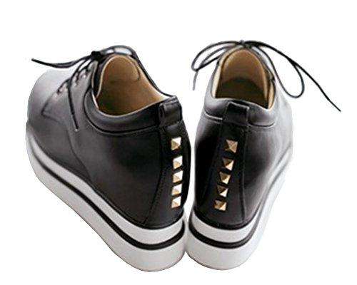 5 Plateforme Noir Hitime Sandales Noir 36 Femme H06nqfWRwz