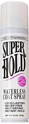 Super Hold Waterless Coat Spray 10oz Aerosol by Chris Christensen
