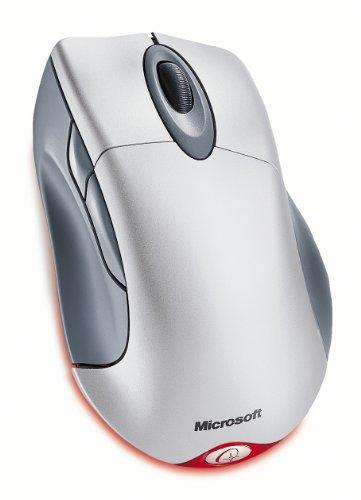 Microsoft Wireless IntelliMouse Explorer - Mouse - optical - 5 button(s) - wireless - USB wireless receiver - metallic - Explorer Usb Mouse