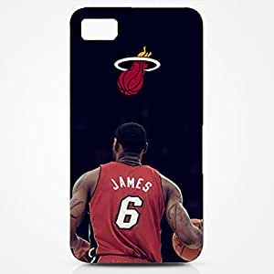 LeBron Raymone James Collection Famous Basketball Star Cool Picture Hard Black Plastic ShockProof Phone Cover for Iphone 6 (4.7 Inch)