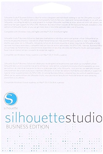 (Silhouette America SILH-STUDIO-BE-3T Studio Business Edition Software)