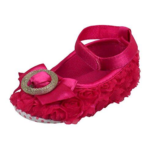 Pink Baby White - Rosebud Or Shoes Buckle Vintage amp; Cerise
