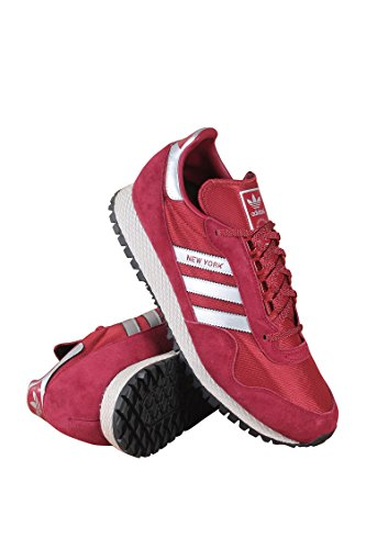 Adidas Men New York Trainers (burgundy / metallic silver / mystery red) Burgu Red many kinds of cheap online CvWU5H39