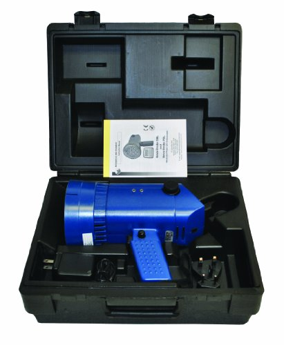 "Monarch Nova-Strobe DBL Kit Led Portable Stroboscope, with NIST Certificate of Calibration, 9"" L X 3.66"" W X 3.56"" H, Includes Carrying Case"