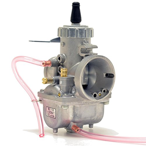 Genuine Real Mikuni 34mm Round Slide Left Side Idle Carburetor Carb VM34-168 by Niche Cycle Supply