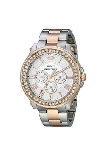Juicy Couture Women's 1901255 Pedigree Rose-Gold Plated Bracelet Watch
