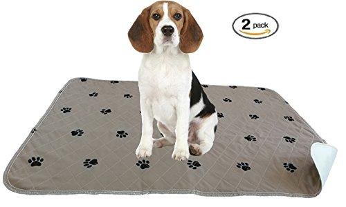 Reusable Housebreaking Pad (ZISU 2 Pack Washable Dog Training Pads Large Size 30