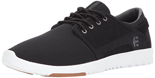 Etnies Mens Men's Scout Skate Shoe, Black/Charcoal/Gum, 8 Medium US