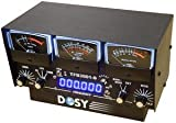 Cheap Dosy TFB-3001-S 3 Meter In-Line Wattmeter with Black Meters & Frequency Counter