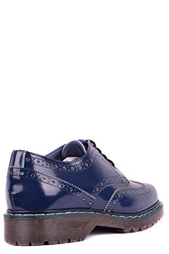 Mcbi238028o Philippe À Cuir Model Bleu Chaussures Homme Lacets gqwxEOZq