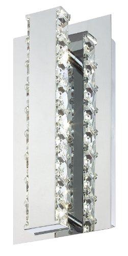 - Eurofase 20403-010 Cronos LED Wall Sconce, Chrome