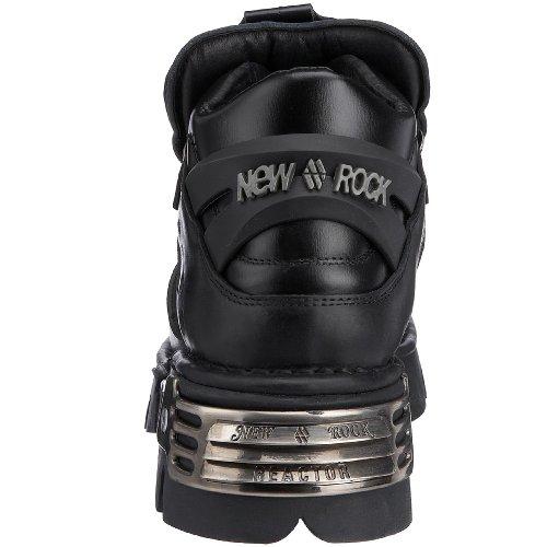 New Rock 110-S1, Boots homme Noir