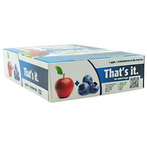 That's it Bar, Apple + Blueberry by THAT'S IT NUTRITION