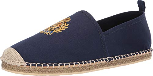 (Polo Ralph Lauren Men's Barron Crest Slipper Navy 11 D US)