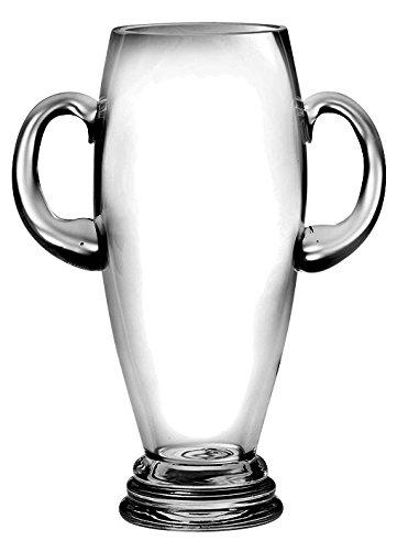 Barski - European Quality Glass - Trophy Vase with Handles - 12