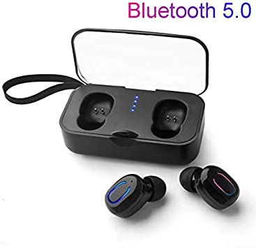 Amazon Com Hulorry Wireless Bluetooth Earbuds For Iphone 7 One Key Operation Mini Wireless Invisible In Ear Headphones Car Headset With Hd Mic Portable 500mah Charging Case For Iphone Android Phones Kitchen