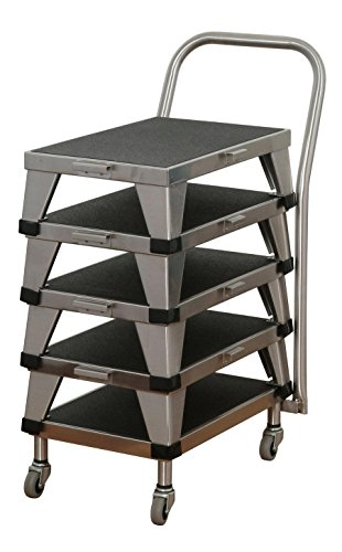 Umf Medical Stainless Steel Stacking Foot Stool,12X18X6 ()