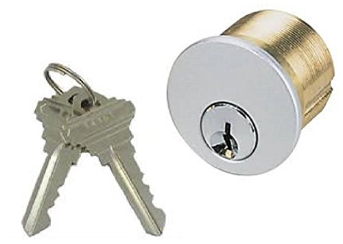 Mortise Key Switch (Mortise Key Switch Lock Cylinder for Securitron, SDC, Camden, RCI, Schlage SC1 Keyway (Keyed Different))