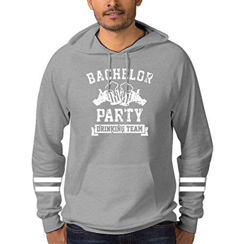 (YPJKR Bachelor Party Drinking Team Adult Straight Name Hooded Sweatshirt Fashion Personalized Hoodies with Pocket)