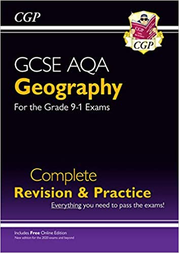 New GCSE 9-1 Geography AQA Complete Revision & Practice (w/ Online