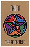 Guardian MLL-00003792 ''Truth The Anti-Drug'' Printed Message Indoor Floor Mat, 3' x 5', Brown